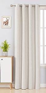 white blackout curtains