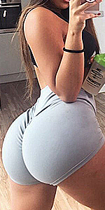 scrunch shorts