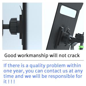 Good workmanship will not crack
