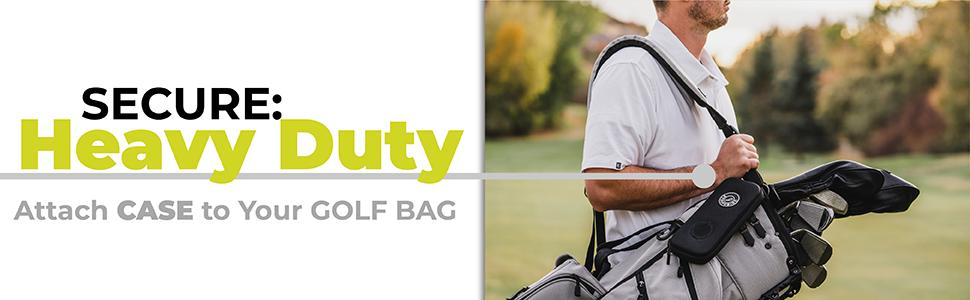 golf glove attach to bag