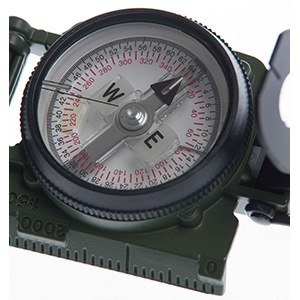 Model 27 Lensatic Compass Dial Free floating no liquid