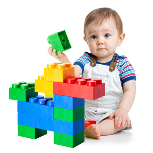 UNiPLAY Soft building blocks, stacking blocks, baby blocks, safe toy, antibacterial, BPA free