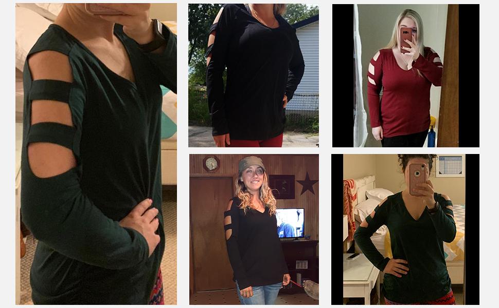 long sleeve t shirts women