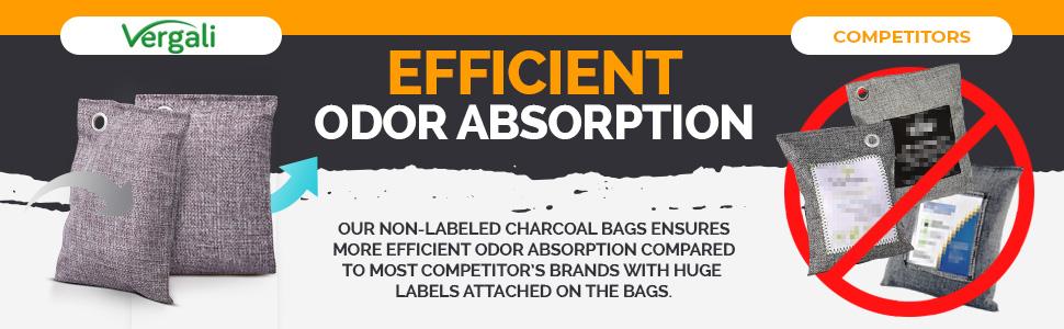 Efficient Odor Adsorption