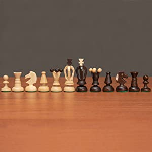 """King's"" European International Chess Set - Medium"