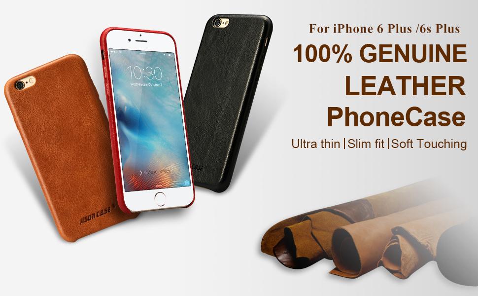 iPhone 6s plus leather case