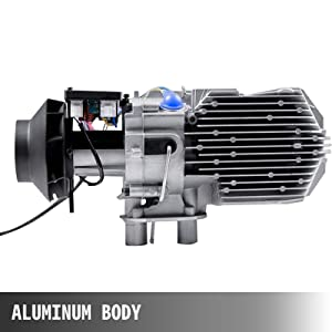 5KW 12V Air Diesel Heater Voice Prompt Function Fuel Pump Thermostat Self-Test