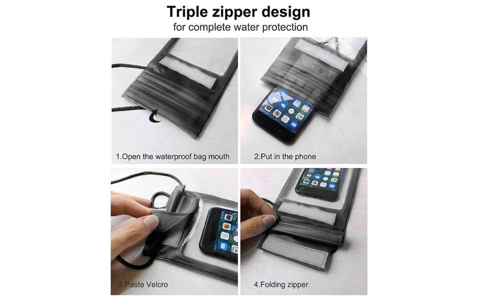 Tripal Zipper Design