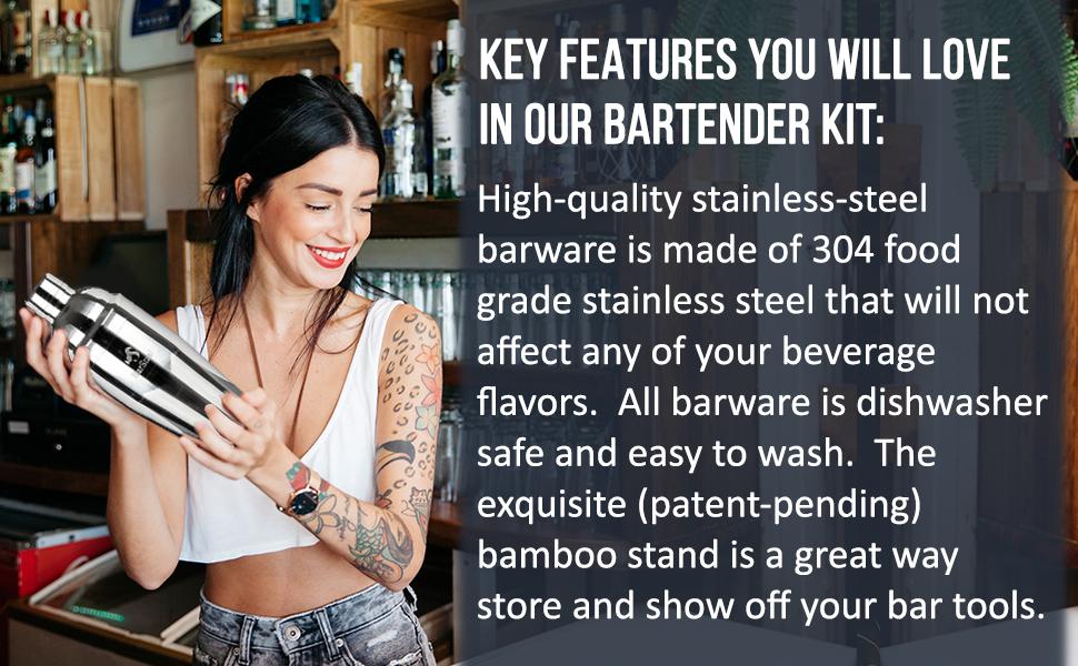 bar stand housewarming gift