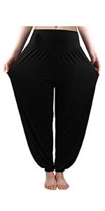Women's Harem Yoga Pants