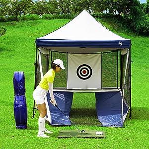 Outdoor Golf Practicing Net