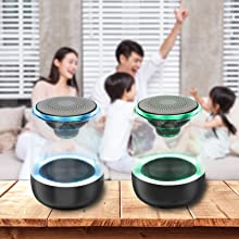 entertainment  [2 Pack] Bluetooth Portable Speaker, True Wireless Stereo Speakers, Crystal Clear Stereo Sound, Rich Bass, 100 Ft Wireless Range, Microphone, LED Light Show, TF Card, Aux in, Mini Small Pocket Size¡ 1176dfda b4e5 49d9 a3c2 cecf9e0c7534