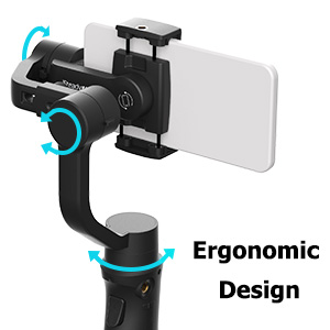 gimbal stabilizer for smartphone iSteady Mobile+ stable smooth Panorama Shooting Motion Time-Lapse