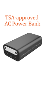 ac outlet power bank laptop power bank laptop battery pack portable laptop charger backup battery