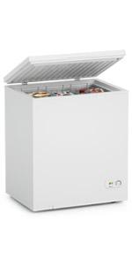 5 Cu Ft White Chest Freezer
