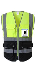 7 pockets vest - black bottom