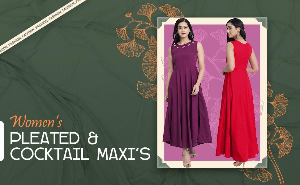 SPN-BNB85C Laycra Maxi dress