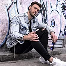 ripped jeans mens slim fit