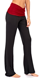 fold over yoga pants for women