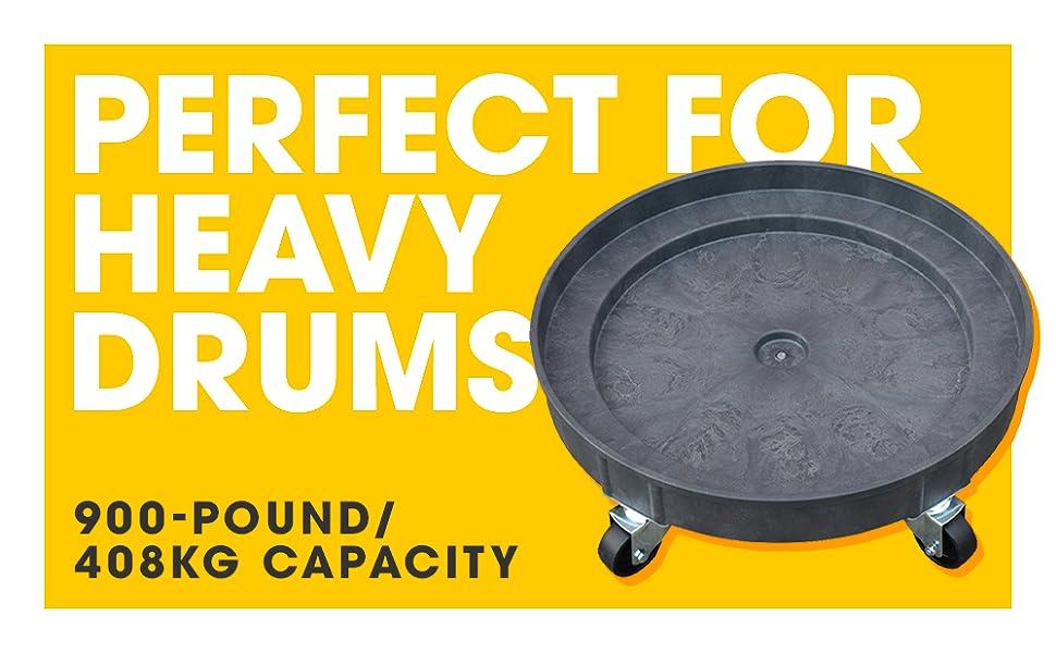 900 pund capacity