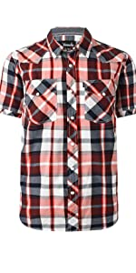 mens causal short sleeve shirt