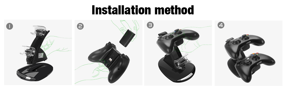 xbox 360 controller charger