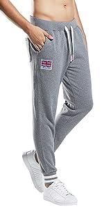 Extreme Pop Hombres Pantalones de chándal Joggers para Correr ...