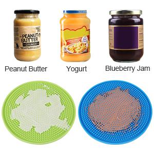 dog peanut butter lick pads