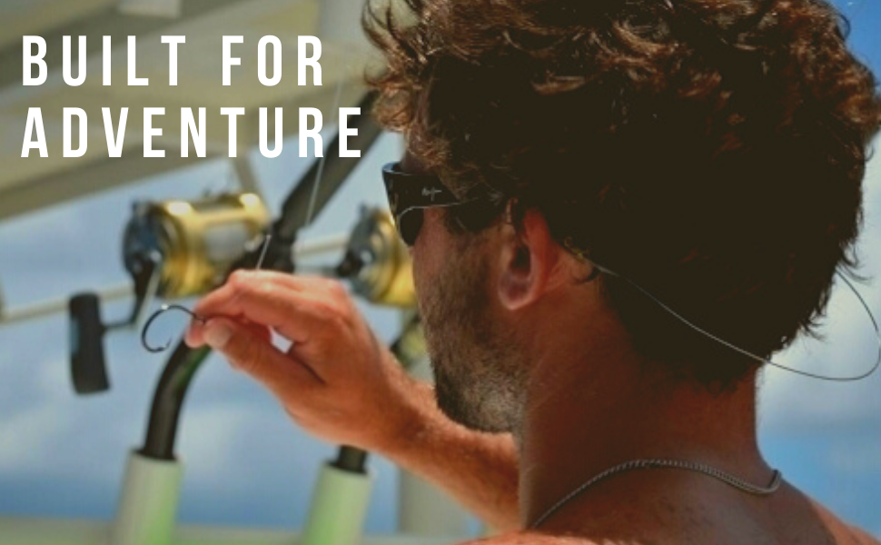 Cablz Eyewear Retainer Strap Built for Adventure Glasses and Sunglass Strap