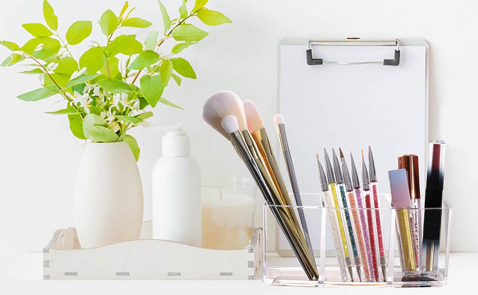 brush holder organizer