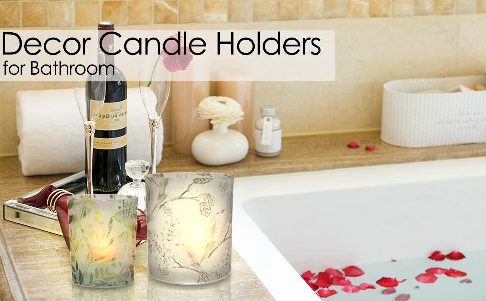 tealight holders glass
