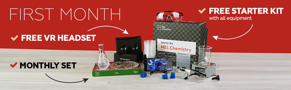 starter kit chemistry experiments exciting fun