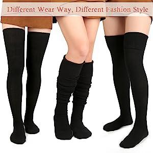 different wear way