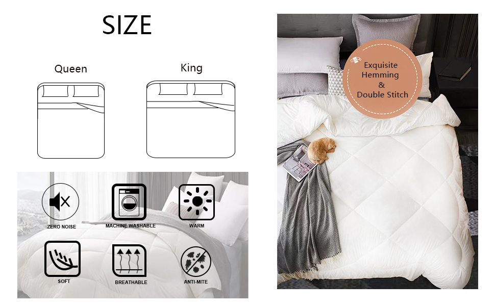 Double Duvet for All Season