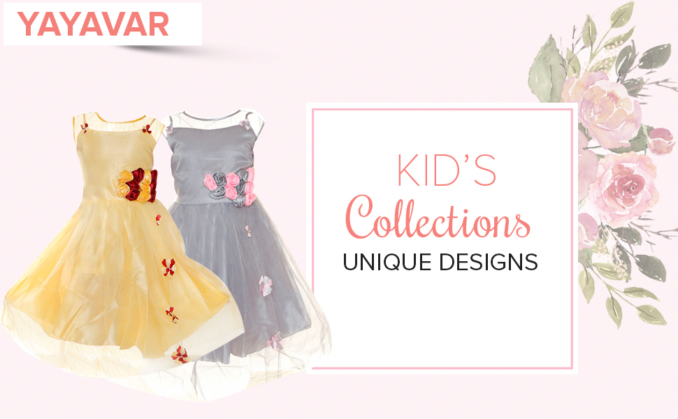 YAYAVAR Unique designs girl dress party birthday