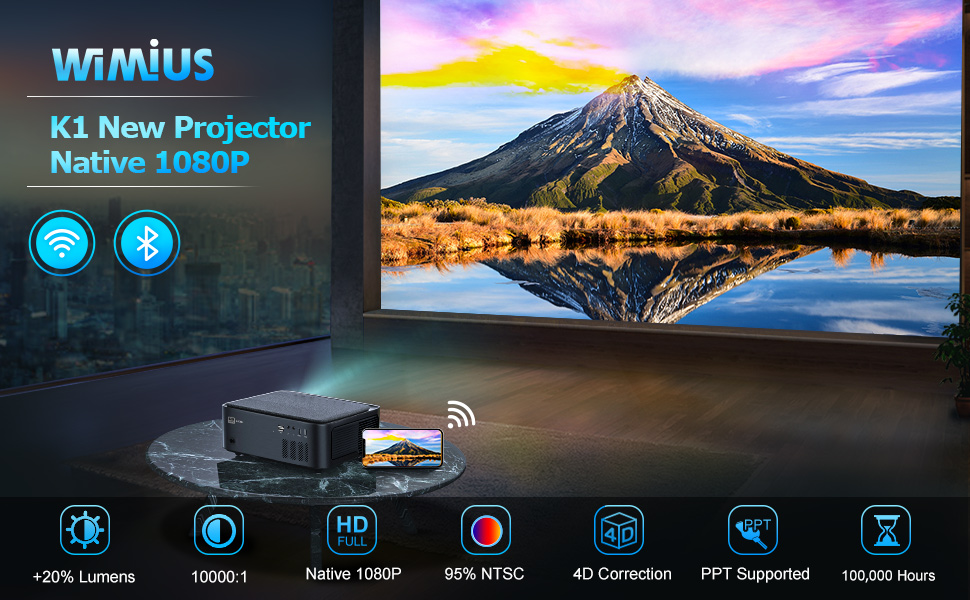 WiMiUS K1 projector
