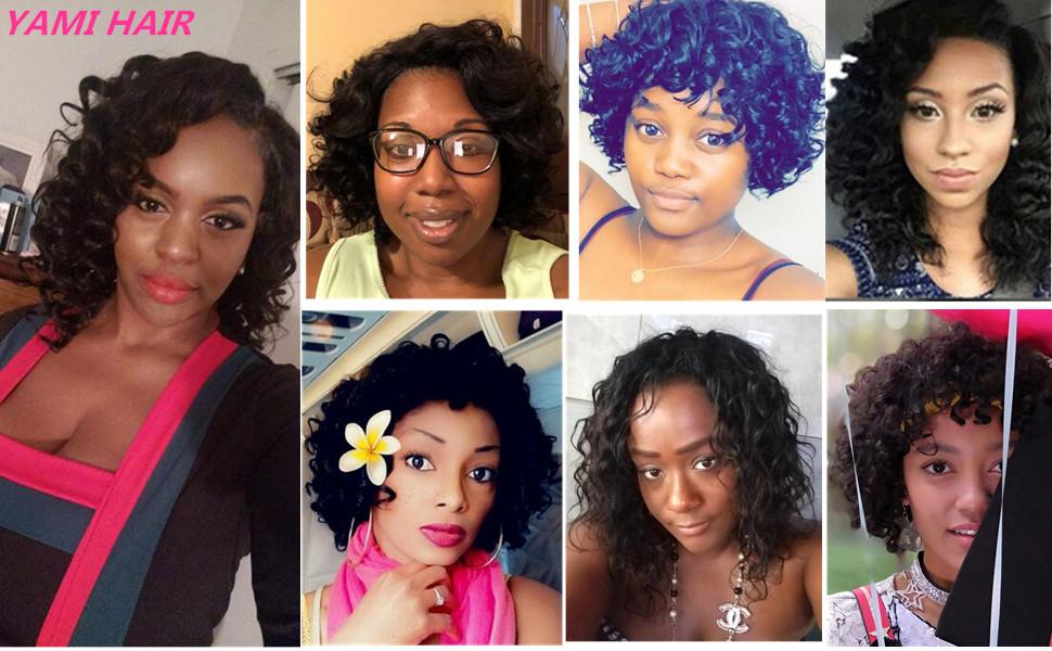 yami spiral curly human hair