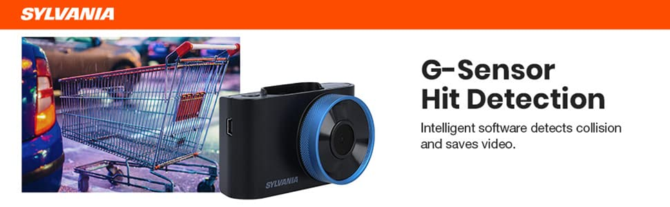 dash camera cam plus stealth touch screen night mode g sensor wide angle motion detection driving