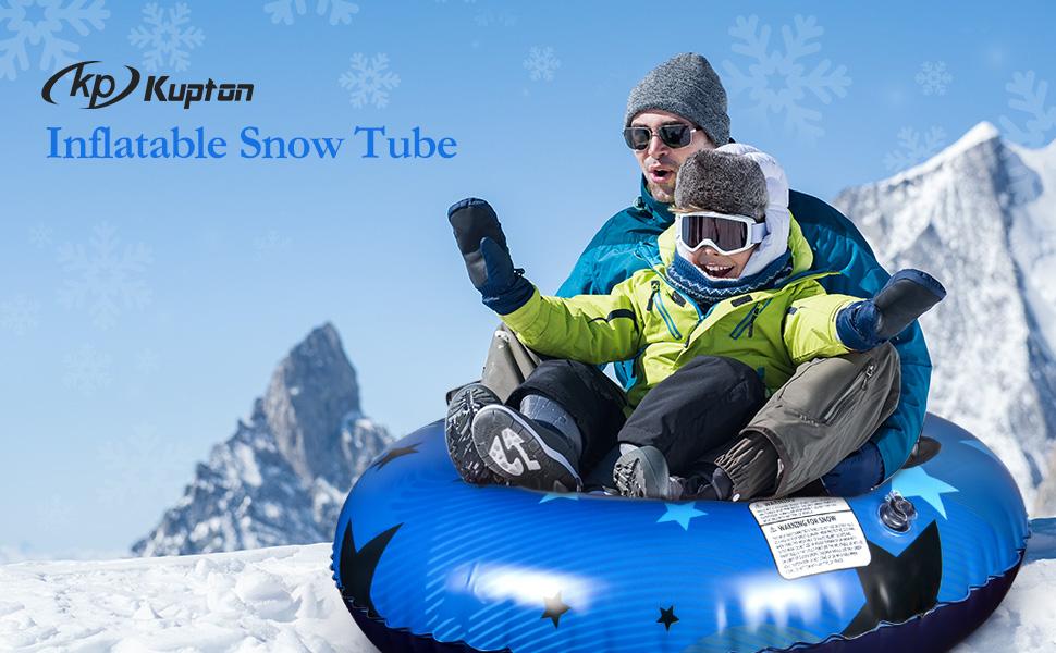 inflatable snow tube for sleding