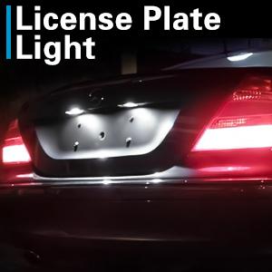 Lexus SC 264 42mm White Interior Courtesy Bulb LED Light Upgrade