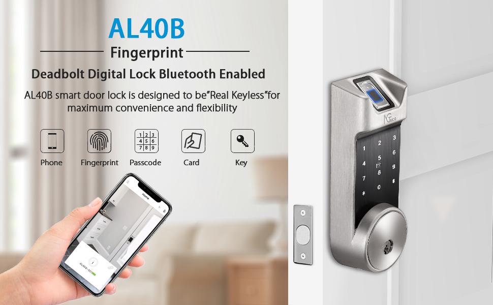 AL40B Fingerprint Door Lock
