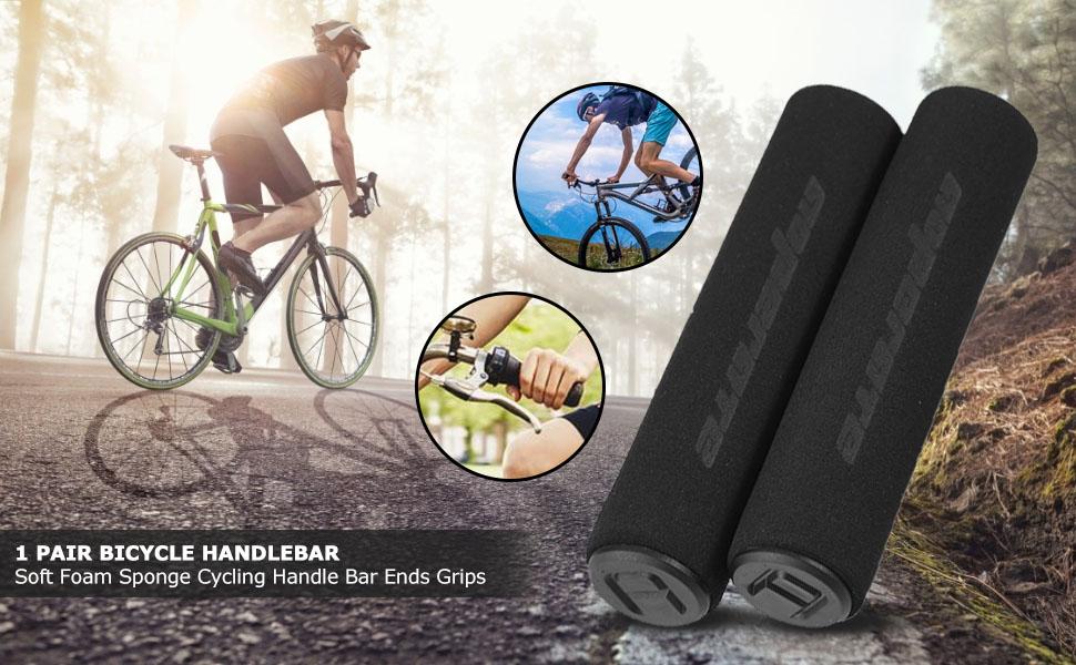 Soft Foam Sponge Handle Bar Grips Cover Bike Cycle Bicycle MTB 2020
