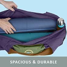 Three-color yoga mat bag
