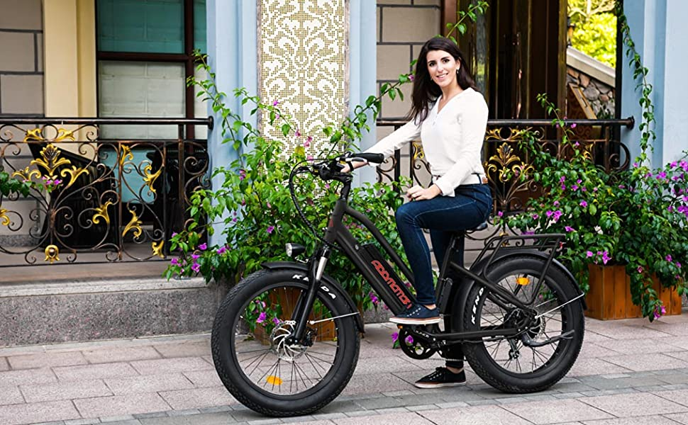 Electric bicycle for adults