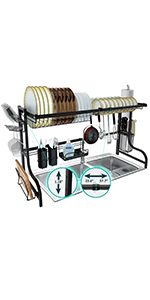 dish rack adjustable