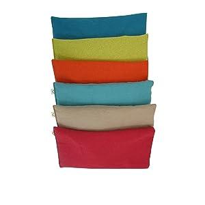 Eye Pillows unscented flax flannel soft relaxing yoga massage sleep meditation spa natural headache