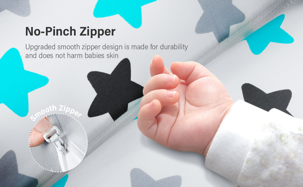 reinforced zipper