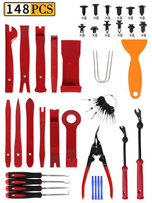 148Pcs panel tools