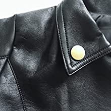 baby boys girls pU faux leather lapel jacket leather jacket clothing baby girl boy biker jacket