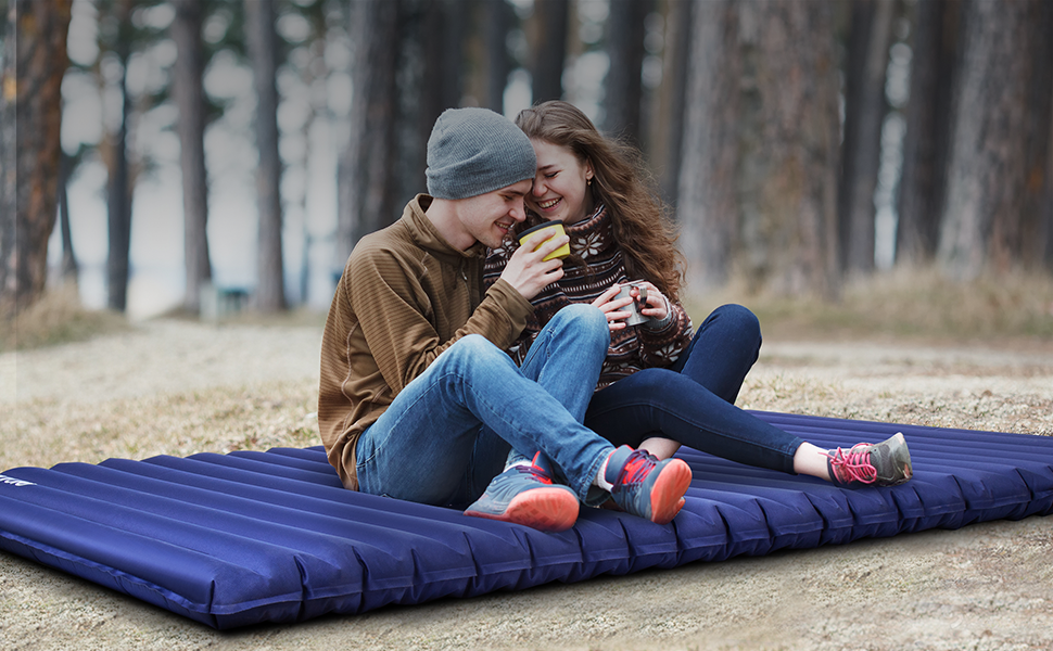 two person sleeping mat